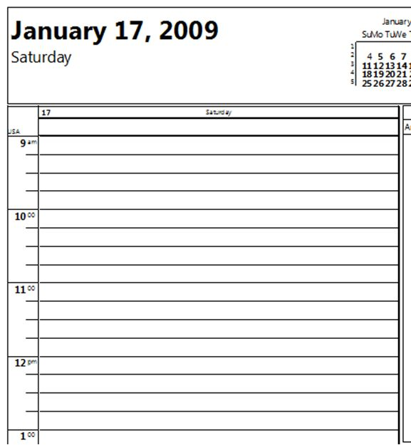 Printable Daily Calendar In 15 Minute Increments Printable – Printable Daily Calendar